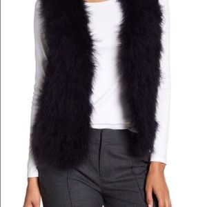 Club Monaco Genuine Feather Vest - Size XS